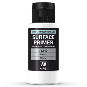 Vallejo Surface Primer - 600 White 60ml