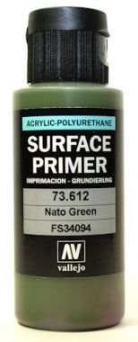 Vallejo Surface Primer - 612 Nato Green 60ml