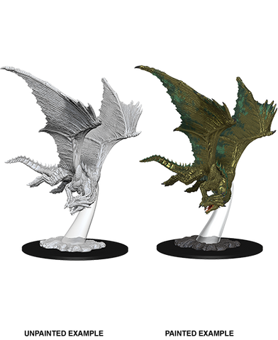 D&D Miniatures Young Bronze Dragon