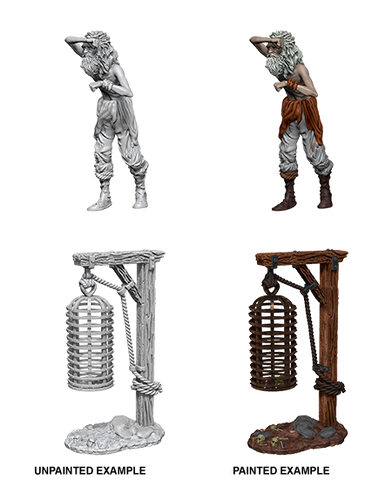 Pathfinder Miniatures Hanging Cage