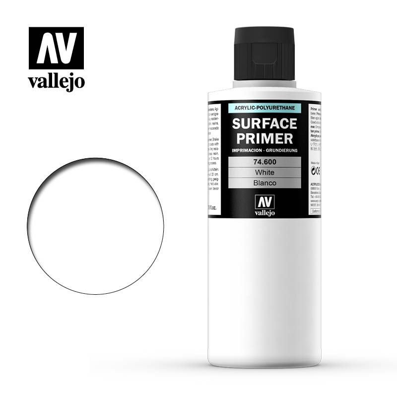Vallejo Paint - White Surface Primer 200ml