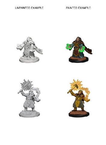 D&D - Unpainted Miniatures Dwarf Cleric Female