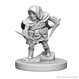 D&D - Unpainted Miniatures Male Halfling Rogues