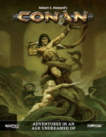 Conan RPG Adventures in an Age Undreamed Of Core Book