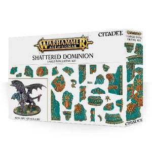 Age of Sigmar - Shattered Dominion Large Base Detail Kit