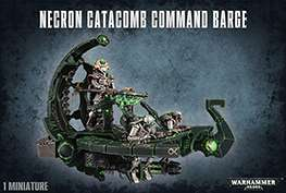 Necrons - Necron Catacomb Command Barge/Annihilation Barge