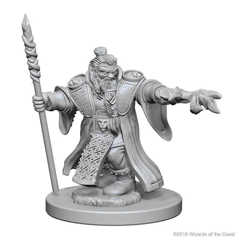 D&D Miniatures Dwarf Wizards Male