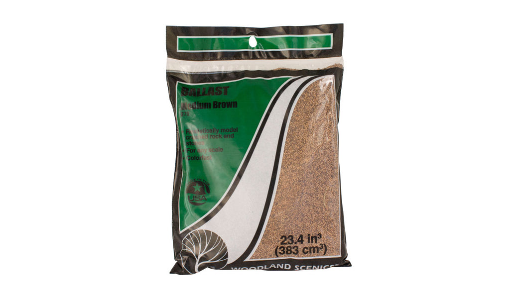 Woodland Scenics Ballast Coarse Brown B86