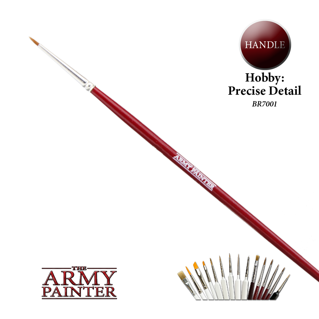 Army Painter Precise Detail Hobby Brush