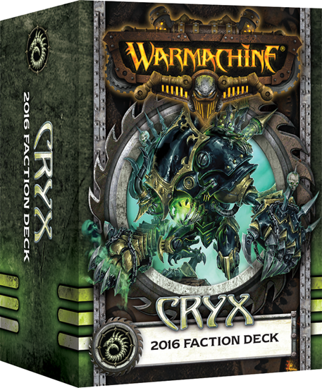 Warmachine Cryx - 2016 Faction Deck