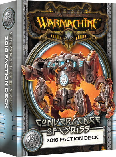 Warmachine Convergence Of Cyriss - 2016 Faction Deck