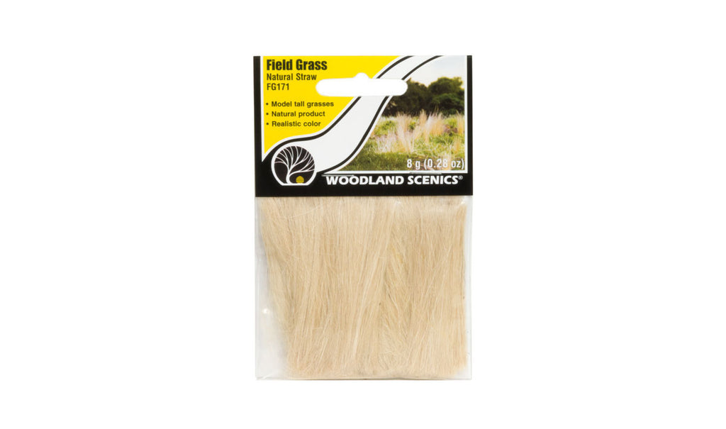 Woodland Scenics Field Grass Natural Straw FG171