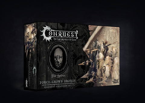 Conquest Spires Force-Grown Drones