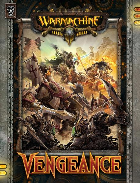 Warmachine - Vengeance Expansion Soft Cover