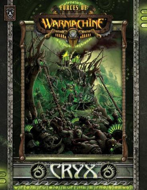 Warmachine Cryx - Forces of Warmachine Soft Cover Book