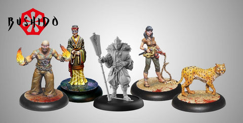 Image of Bushido Silvermoon Trade Syndicate Starter Set