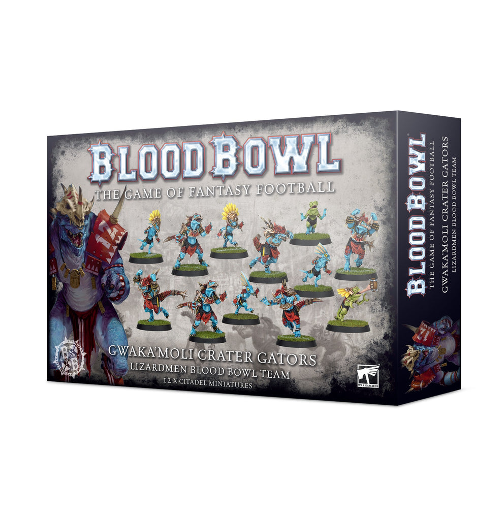 Blood Bowl Gwaka Moli Crater Gators