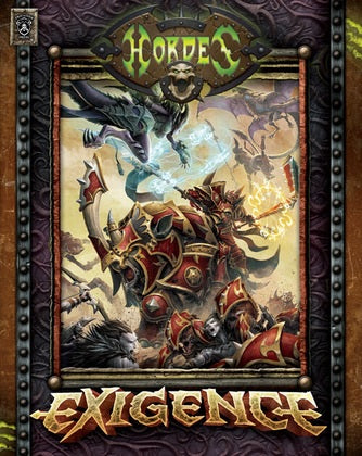 Hordes - Exigence Expansion Soft Cover