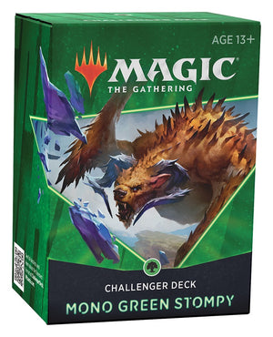 Magic The Gathering Challenger Deck 2021 Mono Green Stompy