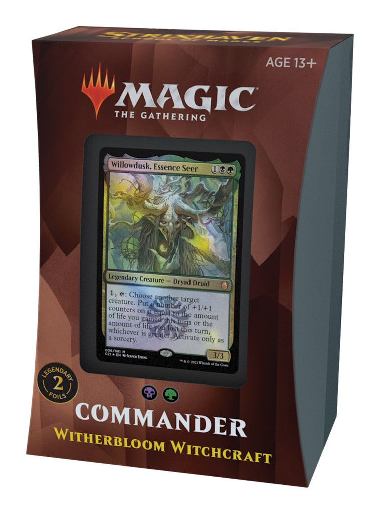 Magic The Gathering Strixhaven Commander Deck Witherbloom Witchcraft