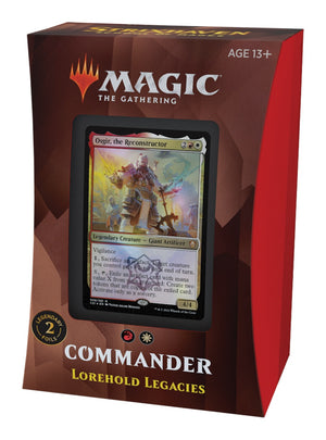 Magic The Gathering Strixhaven Commander Deck Lorehold Legacies