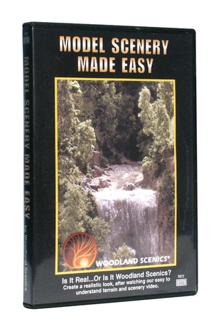 Woodland Scenics Model Scenery Made Easy DVD R973
