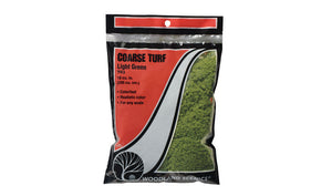 Woodland Scenics Coarse Turf Light Green T63