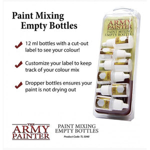 Army Painter Empty Paint Mixing Bottles