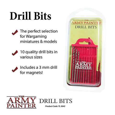 Army Painter Drill Bit Set