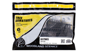 Woodland Scenics Tree Armatures Large Pines TR1125