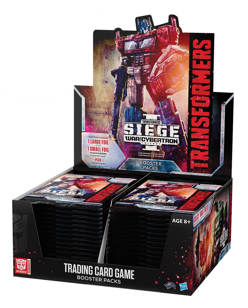 Transformers TCG War for Cybertron Siege Booster Box
