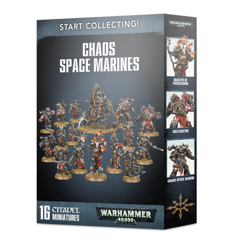 Start Collecting Chaos Space Marines 2019