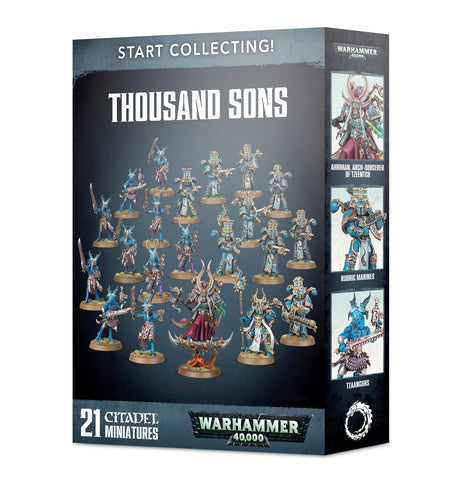 Thousand Sons Start Collecting Set