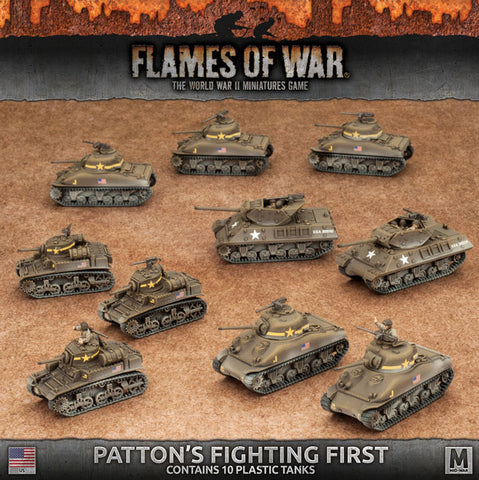 Flames of War Pattons Fighting First