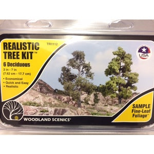Woodland Scenics Tree Kit Large Deciduous TR1112
