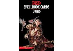 D&D Spellbook Cards Druid Revised 2017 Edition
