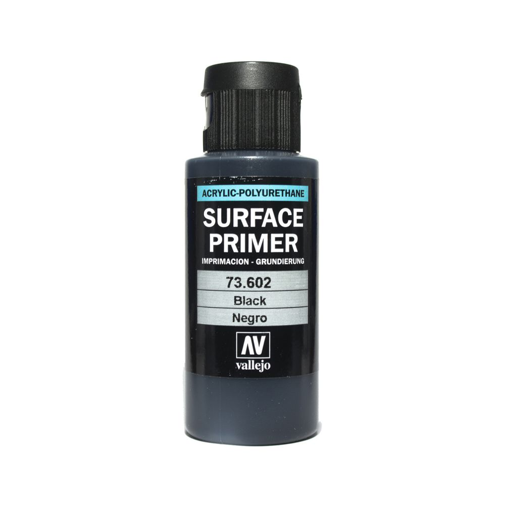 Vallejo Surface Primer - 602 Black 60ml