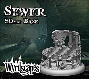 Malifaux -Sewer Bases 50mm