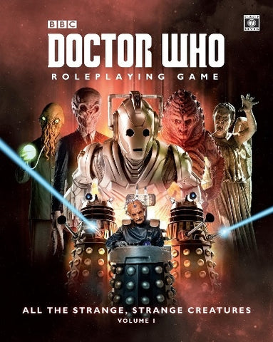 Doctor Who RPG All The Strange Strange Creatures Volume 1