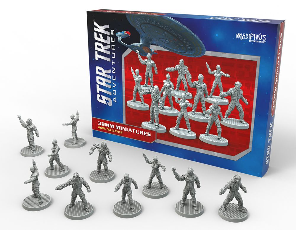 Star Trek Adventures RPG Borg Collective Miniatures Set
