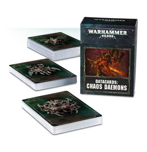Chaos Daemons Datacards 8th Edition