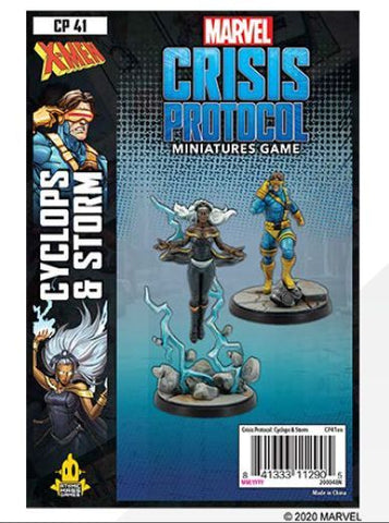 Marvel Crisis Protocol Cyclops and Storm