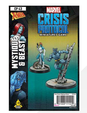 Marvel Crisis Protocol Beast and Mystique