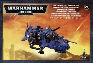 Space Marines - Land Speeder Storm
