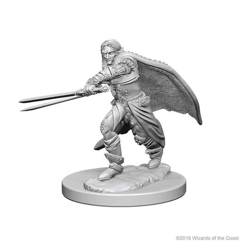 D&D - Unpainted Miniatures Male Elf Rangers