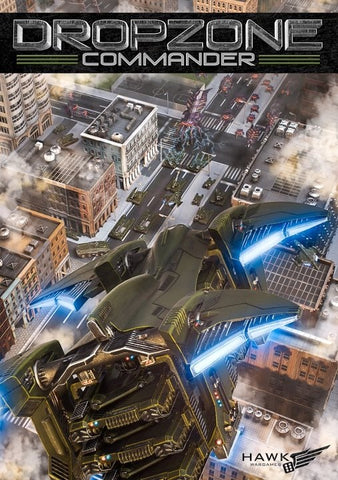 Dropzone Commander - Dropzone Commander Core Rulebook 1.1