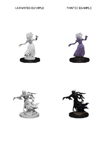 D&D Miniatures Wraith and Specter