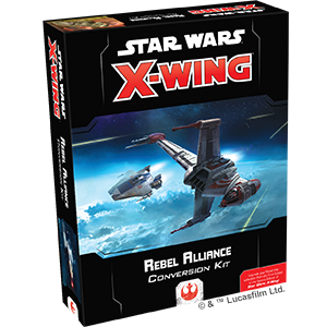 Star Wars X-Wing 2nd Ed Rebel Alliance Conversion Kit