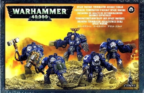 Space Marines Assault Terminators