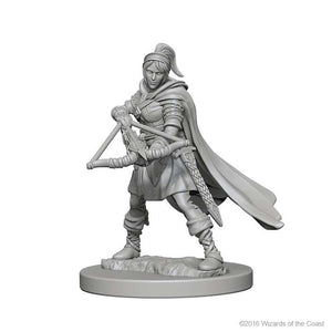 D&D - Unpainted Miniatures Human Ranger Female